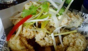 Salt & Pepper Calamari @ The Noodle House