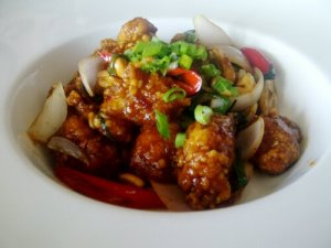 Thai Cashew Chicken @ The Noodle House
