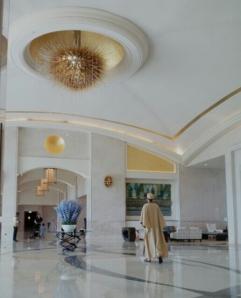 Lobby @ St. Regis Resort, Sadiyat Island - Kaava Man