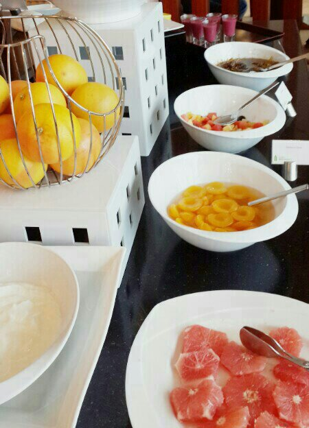 Fresh Fruit @ Radisson Blu Beach Resort